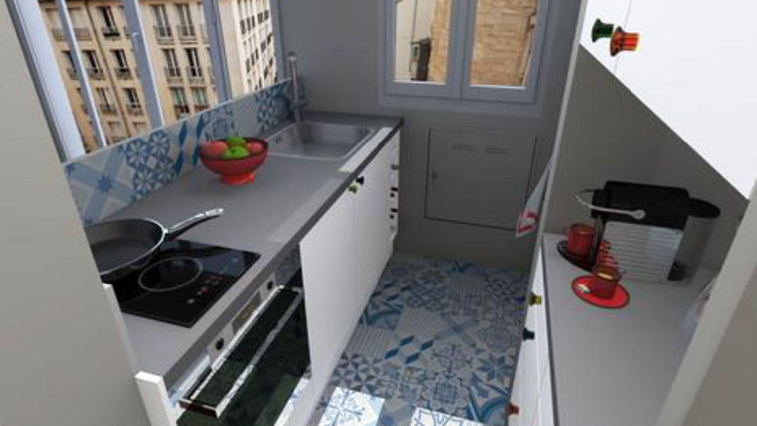 Des astuces pour obtenir une cuisine plus grande blog cuisine - Astuce pour amenager petite cuisine ...